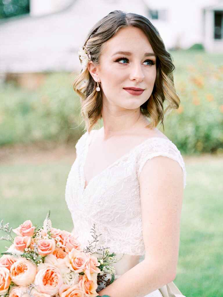 31 Stunning Wedding Hairstyles For Short Hair
