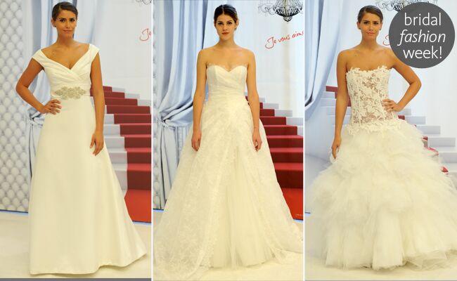 Cymbeline Spring 2014 Wedding Dresses