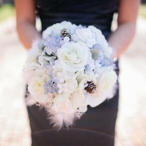 Winter wedding bouquets the bridesmaids bouquets junglespirit Images