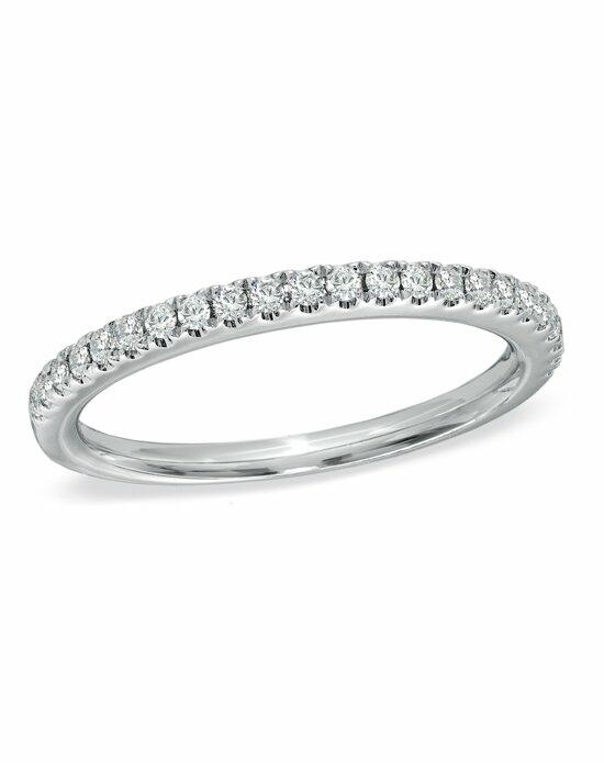 Vera Wang LOVE at Zales Vera Wang LOVE Collection - 1/4 CT. T.W. Round-Cut Diamond Ladies Anniversary Band in 14K White Gold  18638080 Wedding Ring photo