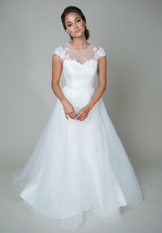 heidi elnora Clara Louise Wedding Dress photo