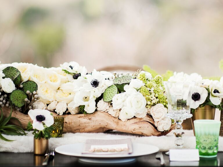 Symbolic wedding flowers and centerpieces