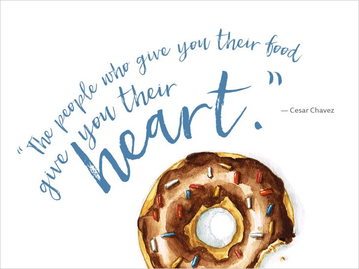 7 Inspiring Quotes About Food And Love