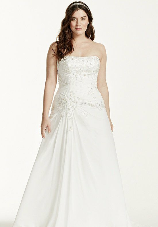 David's Bridal David's Bridal Woman Style 9WG3483 Wedding Dress photo