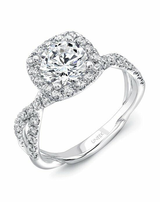 Uneek Fine Jewelry SM818CU-6.5RD Engagement Ring photo