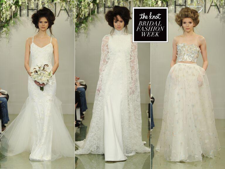 Bridal Fashion Show 2016 Theia Spring wedding