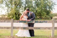 Home is where the heart is for Brandi Tharp (30 and a veterinarian) and Adam Houdashelt (32 and a production supervisor), who tied the knot in a pastu