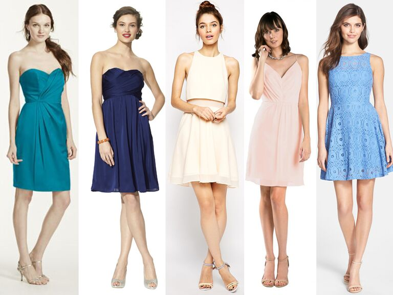 Cheap bridesmaid dresses 55 bridesmaid dresses under 100 for Short cheap wedding dresses under 100