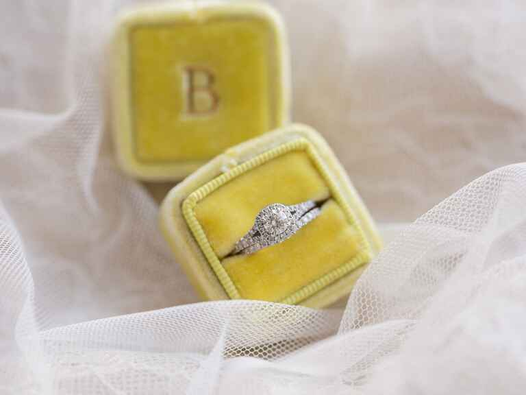 Engagement ring in The Mrs. Box