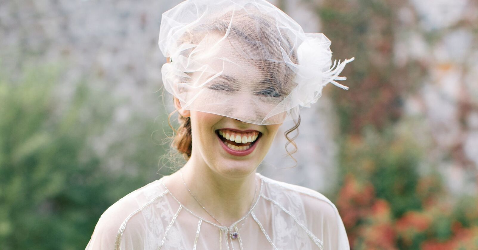 How to Find a Wedding Veil That Highlights Your Face Shape