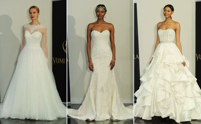Yumi Katsura Shows Traditional Wedding Dresses With Couture