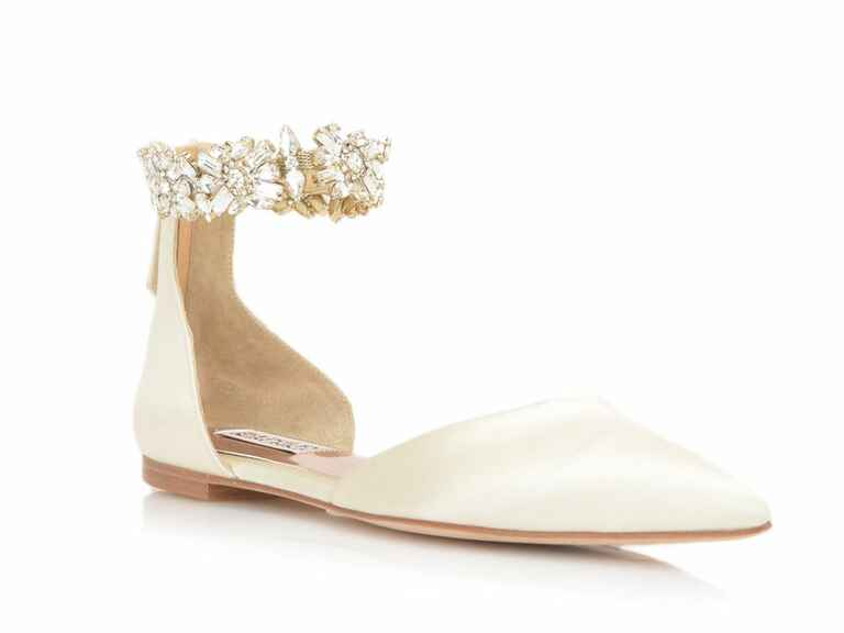 Badgley Mischka Morgen ankle-strap evening shoes