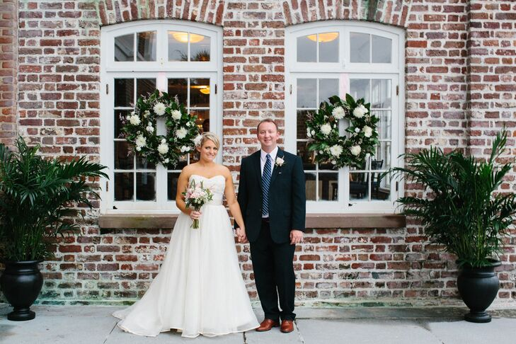 An Urban Meets Vintage Wedding At Historic Rice Mill In Charleston South Carolina
