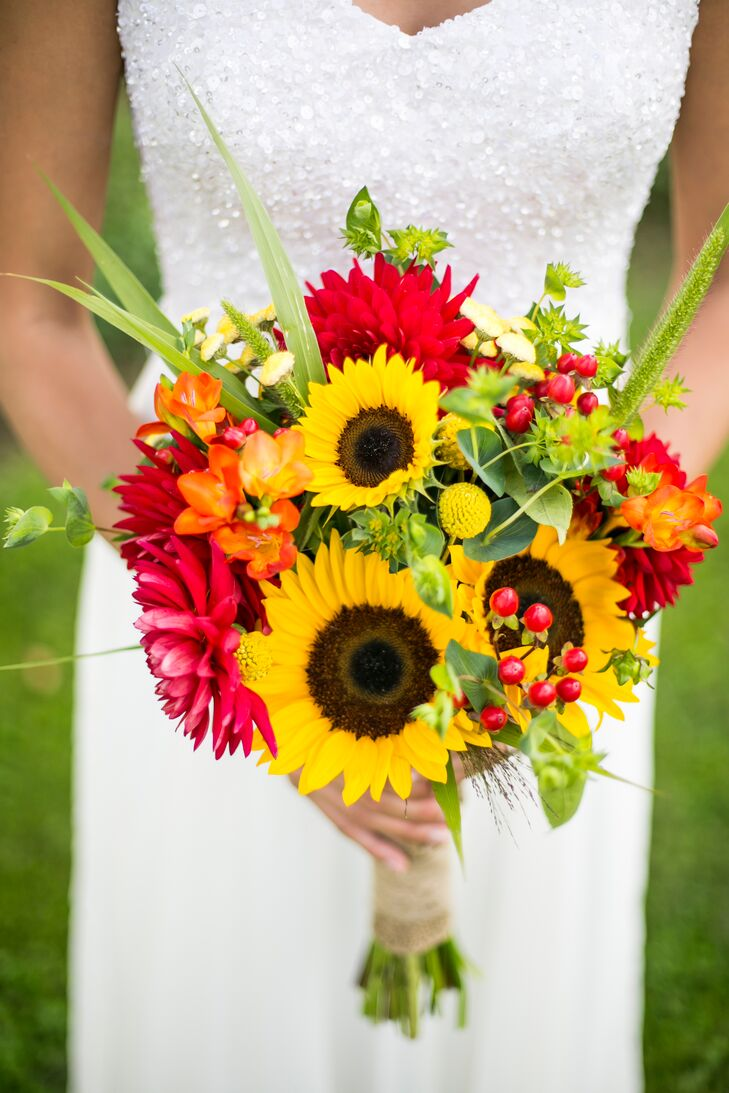 Fall Daisy Bouquet