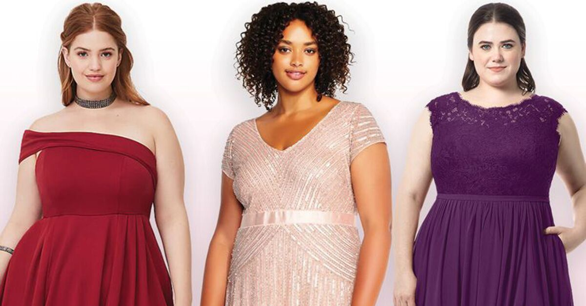 Plus-Size Bridesmaid Dresses You'll Love