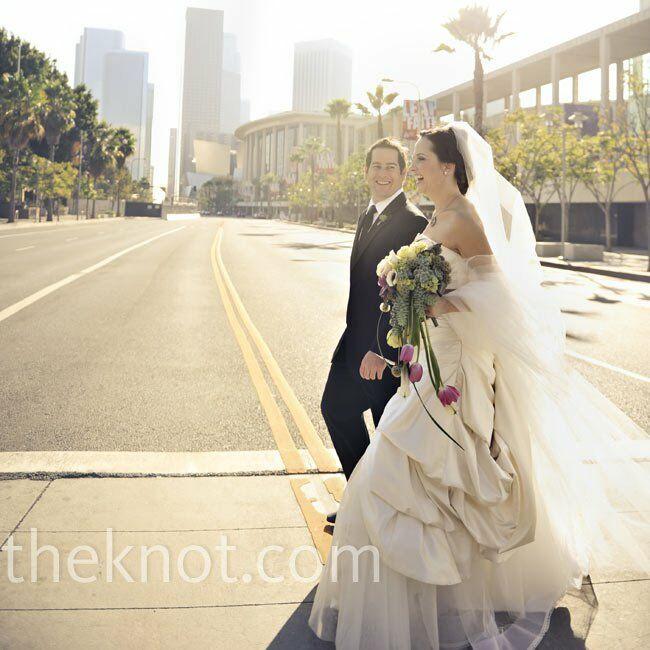 A Vintage Modern Wedding in Los Angeles, CA