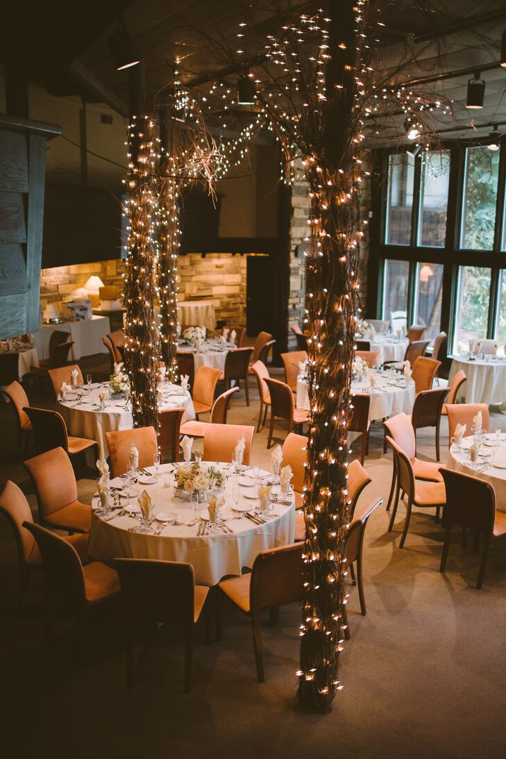 a lush romantic wedding at the hyeholde restaurant in