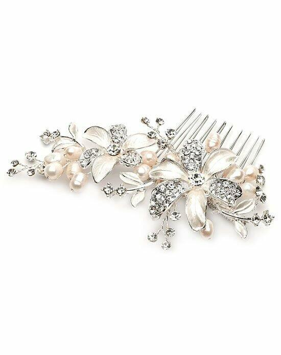 USABride Rebecca Pearl Side Comb Wedding Pins, Combs + Clips photo