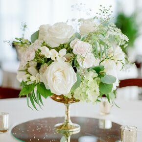 Hydrangea Wedding Centerpieces