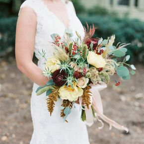 Wedding bouquets junglespirit