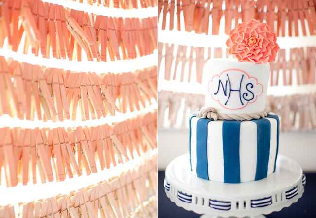 DIY clothespin wedding ideas: Shannon Lee Images / TheKnot.com