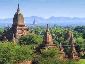 Exotic honeymoon Myanmar
