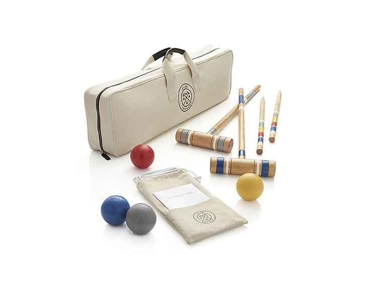 Crate & Barrel Croquet Set cool wedding gift ideas