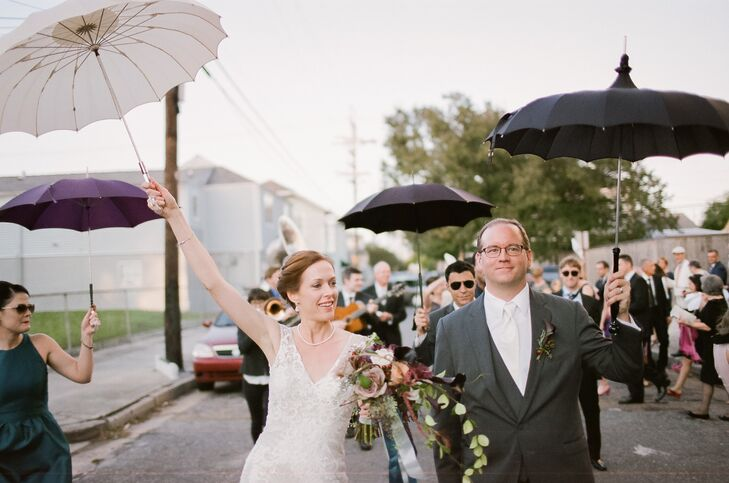 A Traditional New Orleans Style Wedding At Marigny Opera House In Louisiana