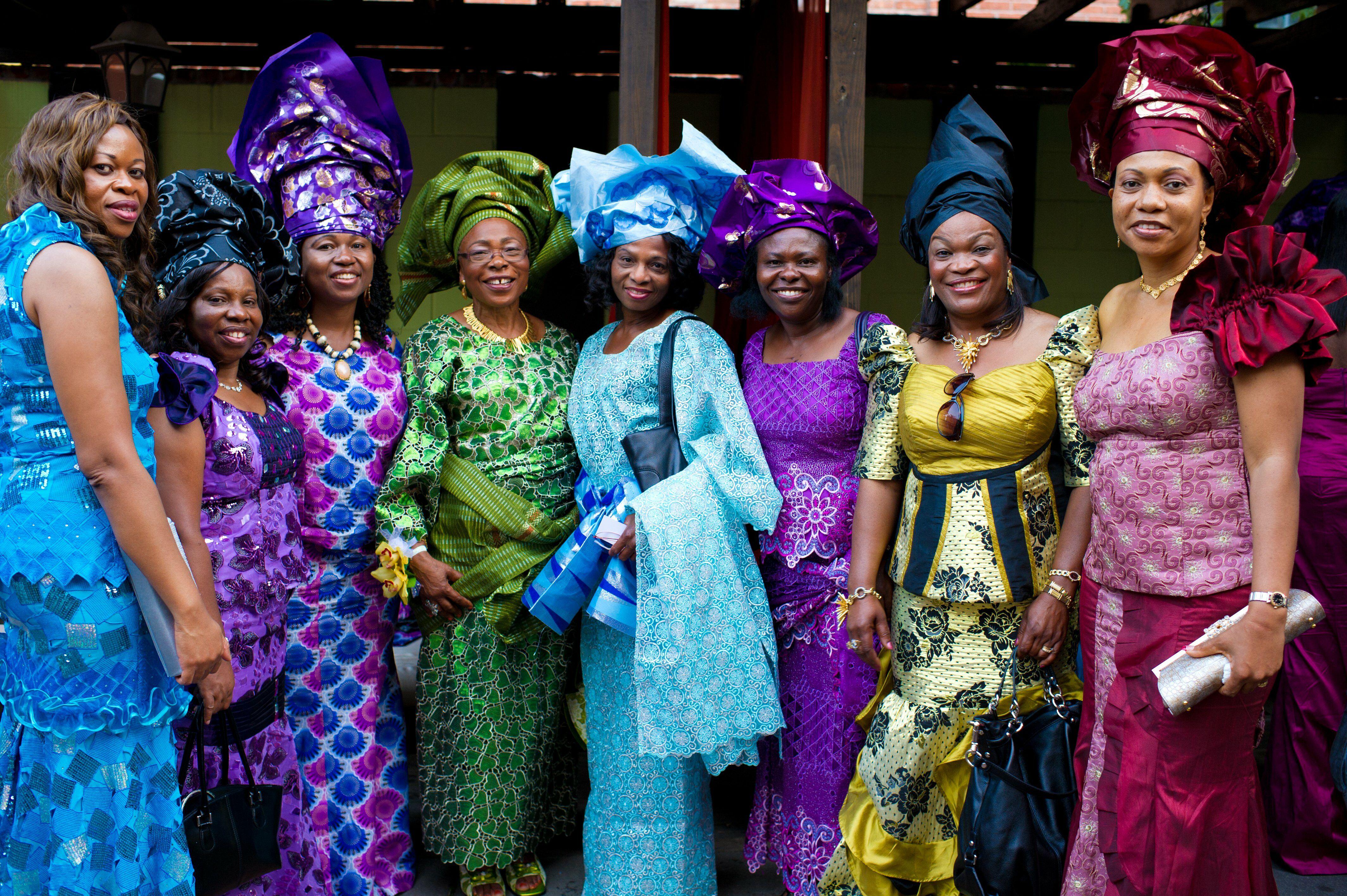 Traditional Nigerian Dresses