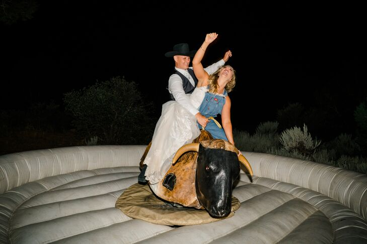 Reception Mechanical Bull