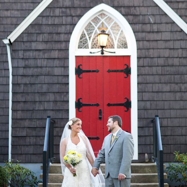 A Yellow And Gray Wedding In Lewisburg, WV