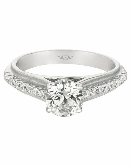 FlyerFit by Martin Flyer CYS21SQ-C-6.5RD Engagement Ring photo