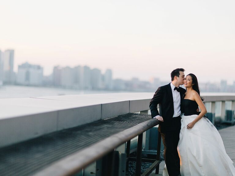 Battery Park Ritz Carloton Real Wedding in New York