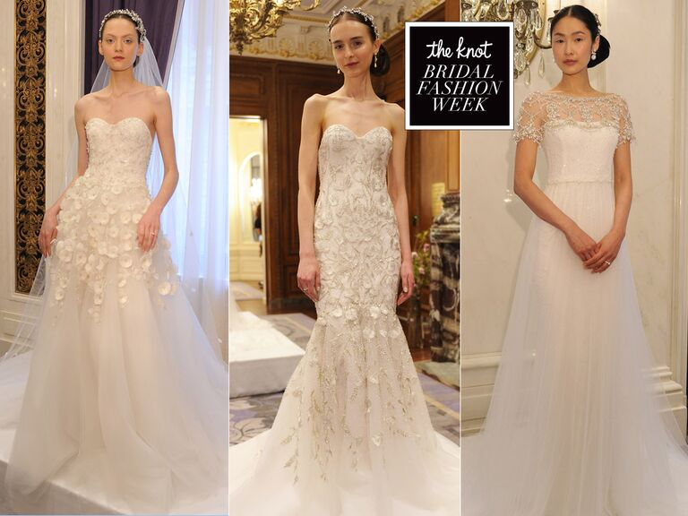Marchesa Spring Wedding Dresses Are All About Romance For
