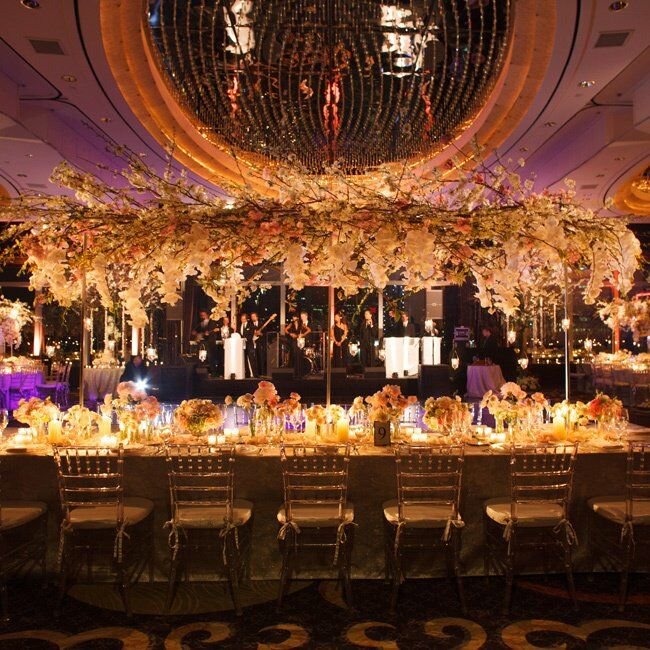 Extravagant Reception Decor At Mandarin Oriental