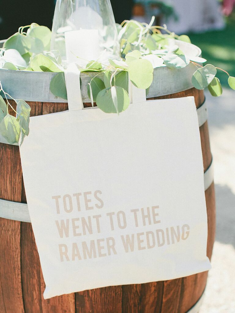 Welcome To Our Wedding Weekend Gift Bags: Our Favorite Wedding Welcome Bag Ideas
