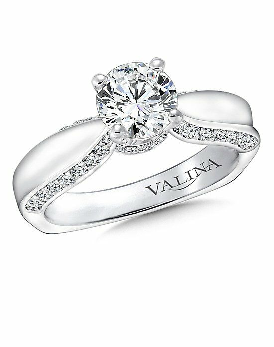 Valina R9246W Engagement Ring photo