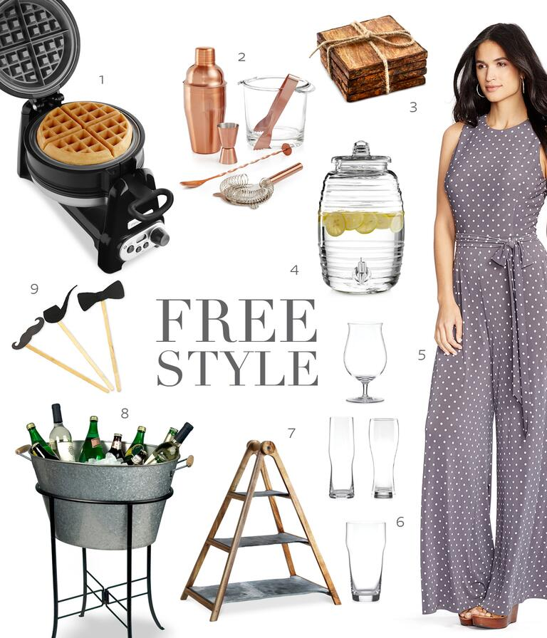 Free Style Outdoor Bridal Shower Theme