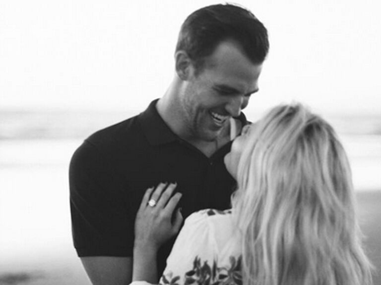Witney Carson and Carson Mcallister are engaged