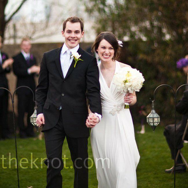 An Outdoor Wedding In Dallas, TX