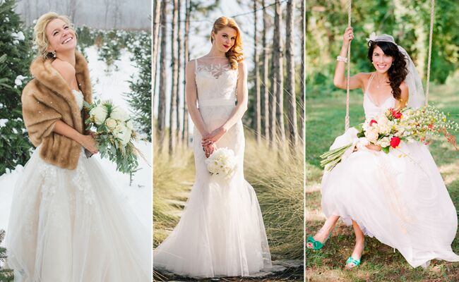 The Prettiest Bridal Beauty Looks of 2013