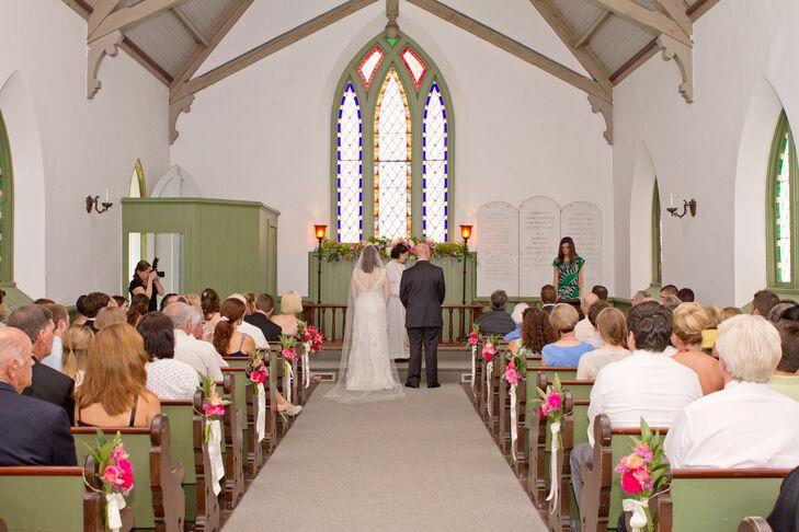 Lawrence Chapel Wedding Ceremony