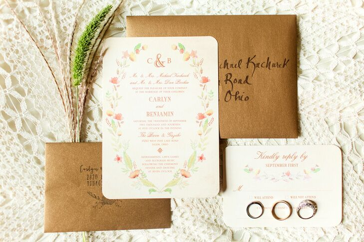 Gazebo Wedding Invitations: A Rustic, Boho-Chic Wedding At The Barn & Gazebo In Salem