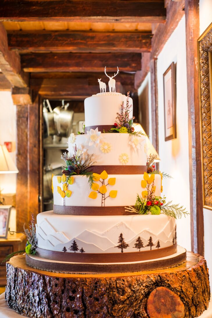 wedding cake bakeries colorado springs a country chic mountain wedding at ski tip lodge in 21799
