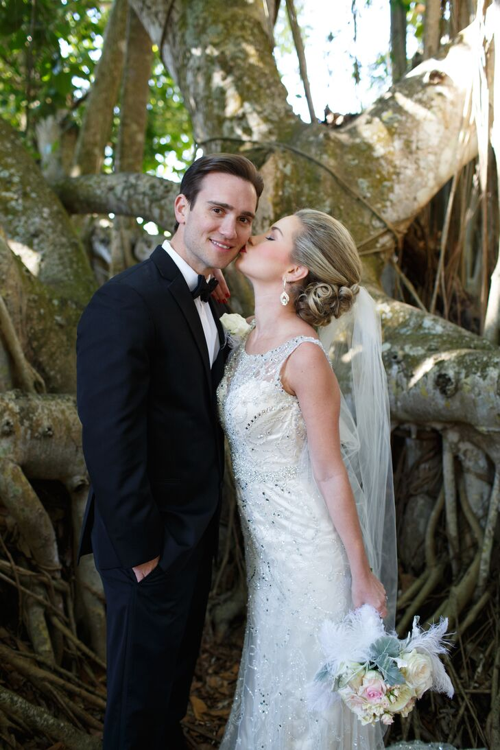 An Art-Deco-Inspired Wedding at Ca\' d\'Zan Mansion in Sarasota, Florida