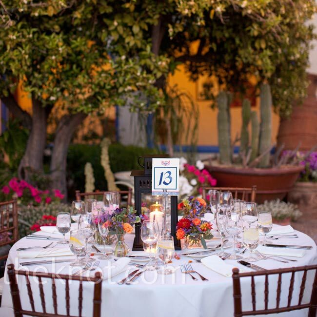 Spanish Style Reception Decor