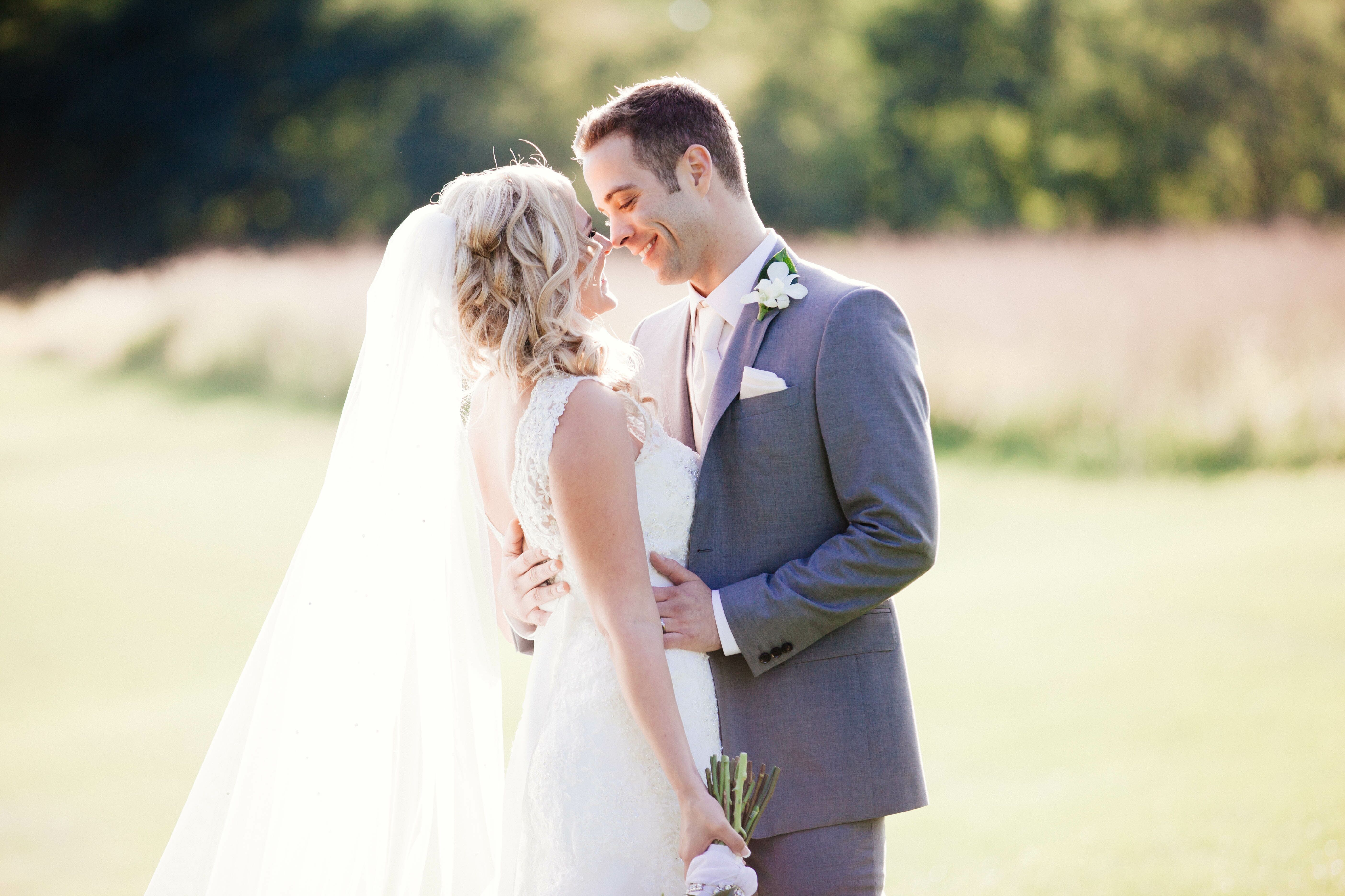An Elegant Purple Wedding At St Charles Country Club In St
