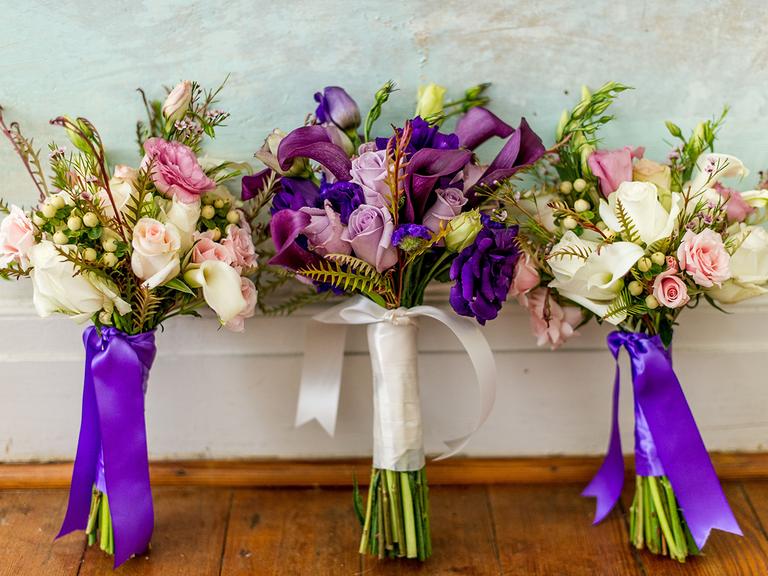 buquê noiva casamenot cor 2018 violet wedding