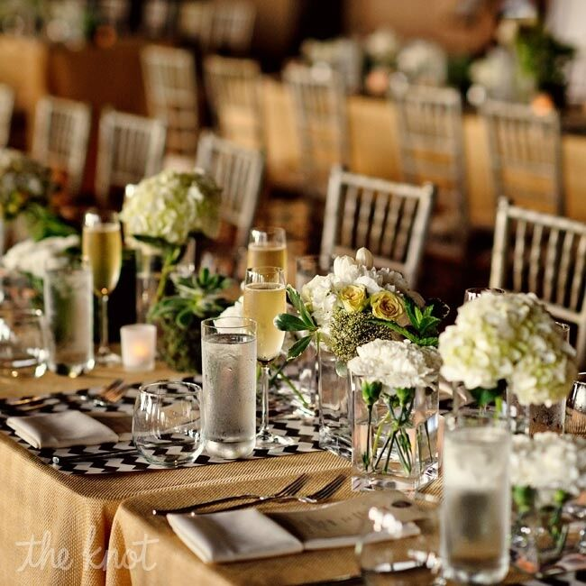 27 Cheap Design Ideas Offering: Brown And White Reception Decor