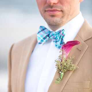 Real Wedding Bow Ties
